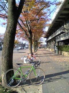ドキドキの納車サイクリング