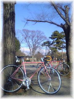納車サイクリング