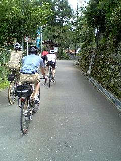 真夏は軽〜いサイクリング