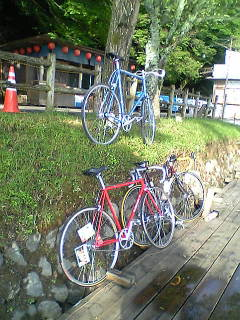 今朝のちょっとサイクリング